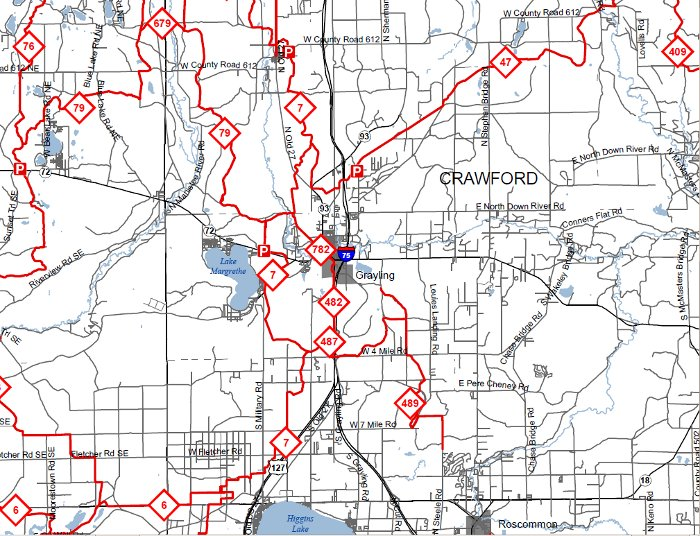 Trails dnr crawford county snowmobile trail map michigan maps online dnrtrailmapscreenshot publicscrutiny Image collections